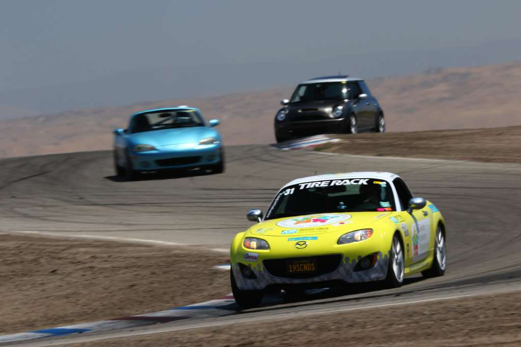 Picture of Cancer Journeys Foundation CEO Robert Hess's #378 Mazda Miata