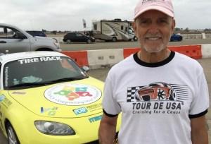Robert Hess with his Mazda Miata