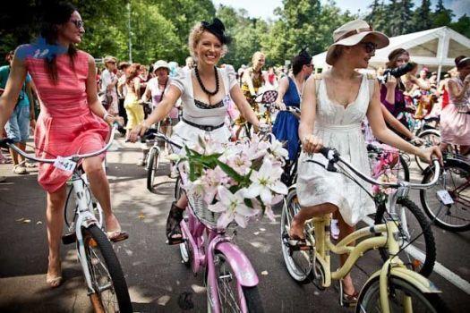 desfile de bici