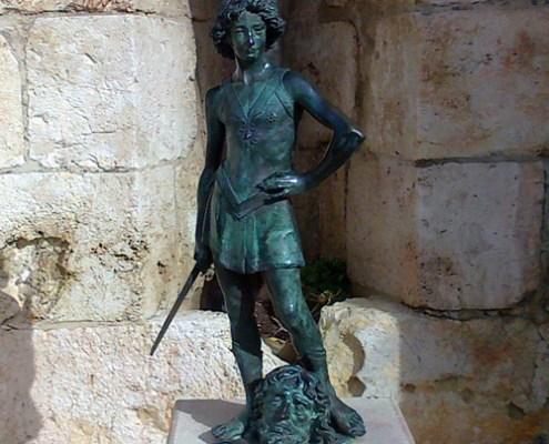 King David Statue Jerusalem