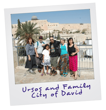 Tour of City of David with Israel tour Guide Aaron Shaffier