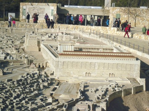 Israel Museum Model of Second Temple Jerusalem