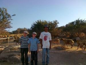 Bedouin boy Hurvat Midras