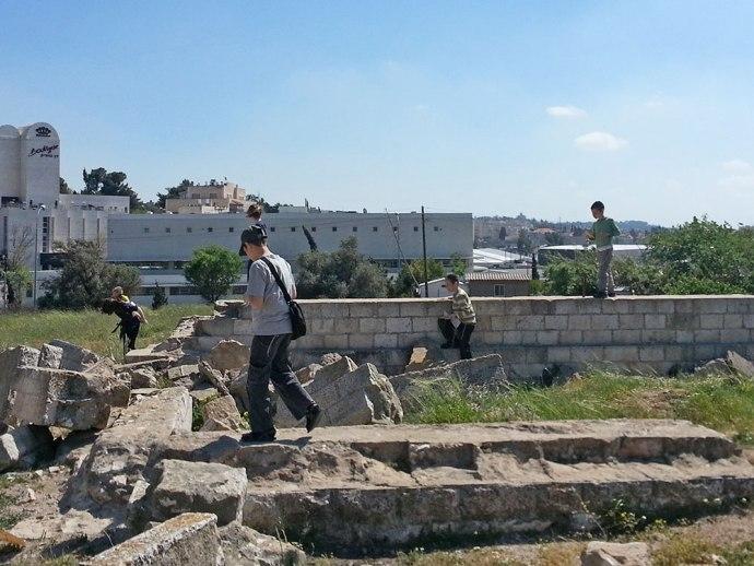 Ruins at Givat Hatanach