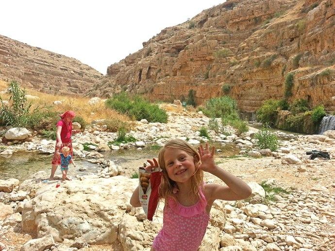Fun in this desert oasis