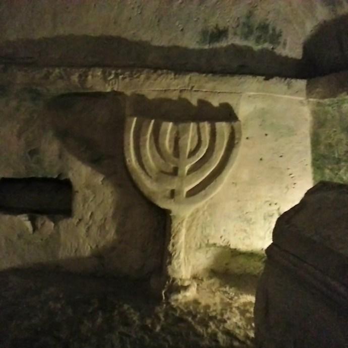 Beit Shearim Menorah