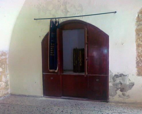 Inside the Shfaram Syanagogue