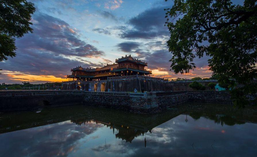 Hue citadel Vietnam Vietnam Backpacking 3 week Itinerary Road Trip