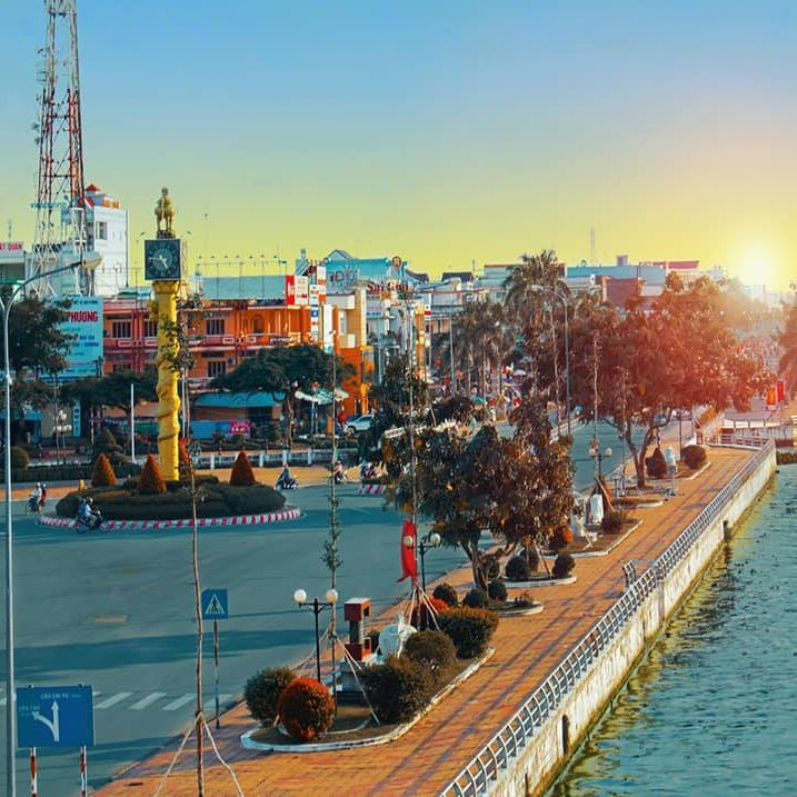 Can tho city 5 famous cities in Mekong delta Vietnam