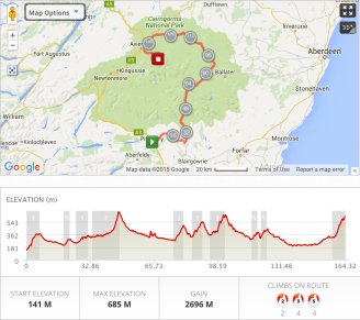 Tour of the Highlands Day 2 (Classic 3 Pistes)