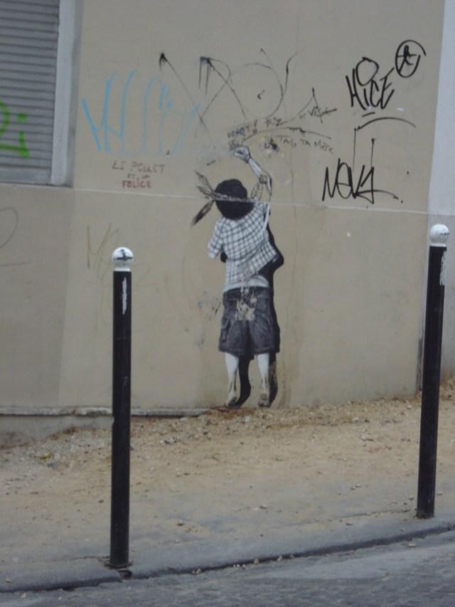 Graffitti Banksy?
