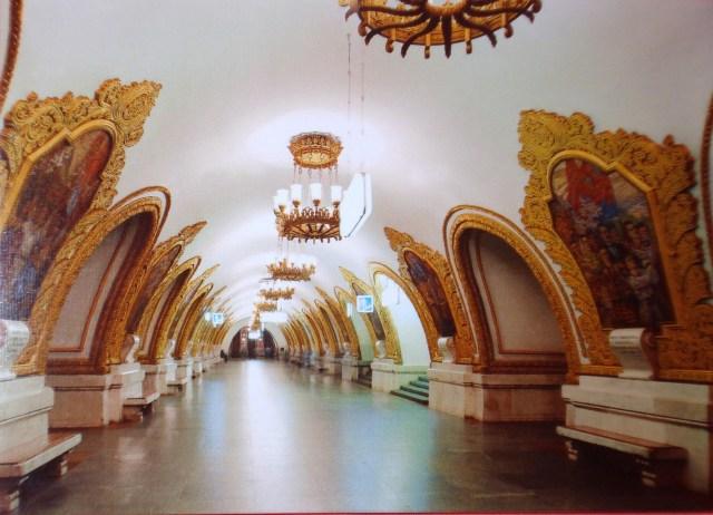 Russia Metro Station