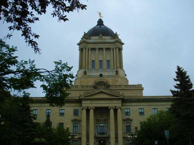 Eternal Youth Overlooking Winnipeg