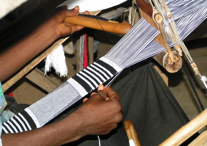 Image result for bonwire kente weaving village