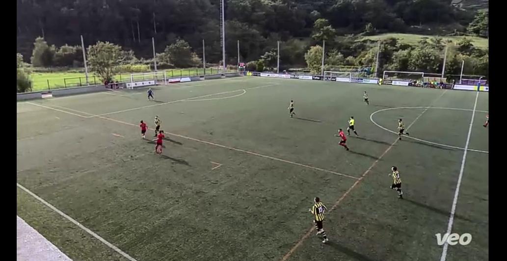 Gran victoria en Deba 0-4