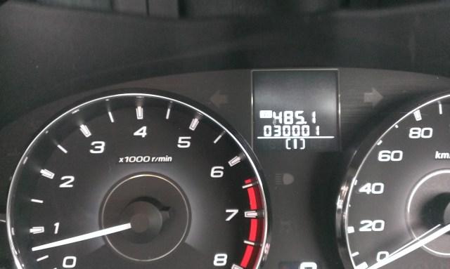 30,000km突破