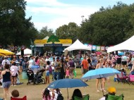 We enjoyed a Cajun music festival & art fair laer in the day