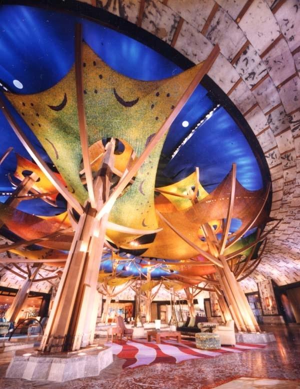 Mohegan Sun Hotel lobby