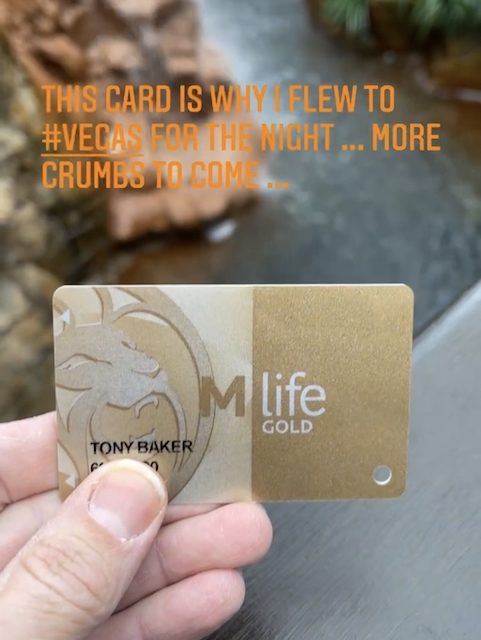 MGM Gold Card From Status Match