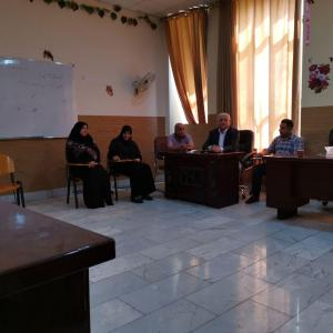 Meeting of the Department of Hotel Management to establish the scientific plan of the department and the preparation of study materials
