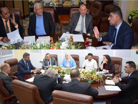 اجتماع اللجنة القطاعية