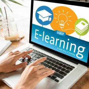 متابعة محاضرات الاساتذة على منصات التعليم الالكتروني