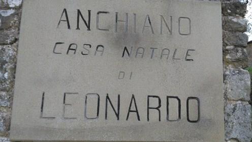 Leonardo's birth place