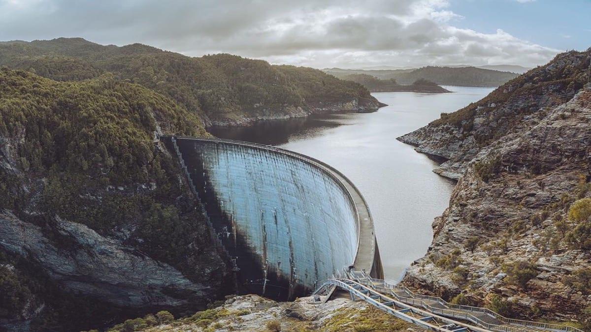 tourism guide Australia, Gordon Dam