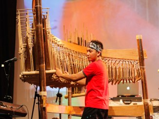 The Angklung, traditional Indonesian bamboo musical instrument originating in West Java is a UNESCO recognized World Cultural Heritage.
