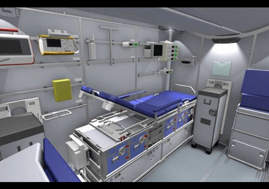 Lufthansa's On-Board ICU
