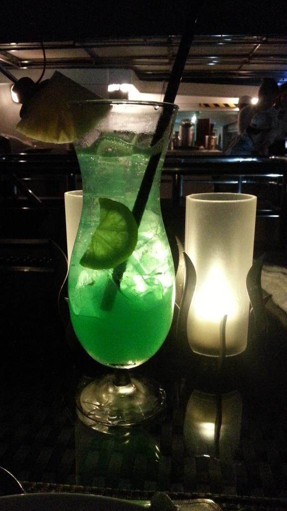 Blue Horizon_non alcoholic signature drink