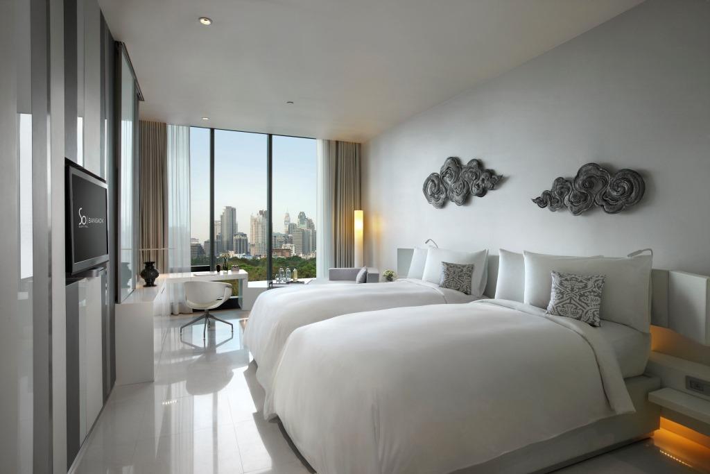 SO Sofitel Bangkok – Metal Element Room – SO Cozy Twin 01