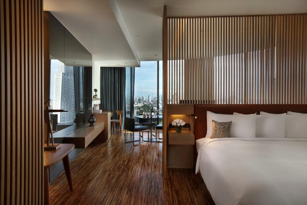 SO Sofitel Bangkok – Wood Element Room – SO Studio 02
