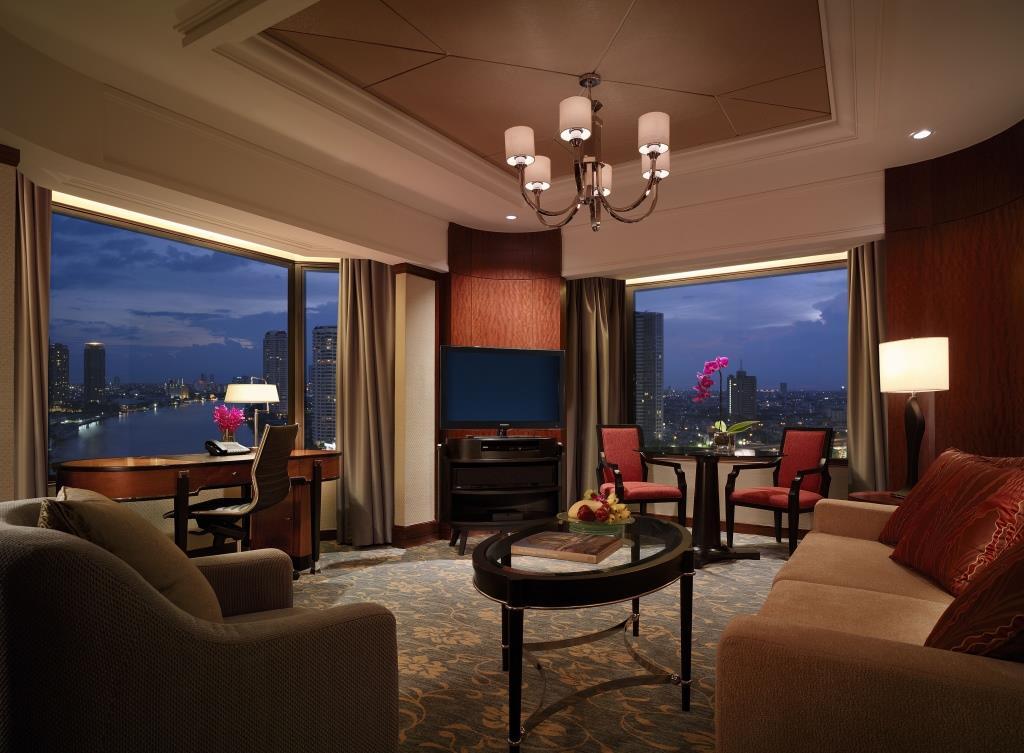 Executive River View Suite_Shangri-La Hotel, Bangkok