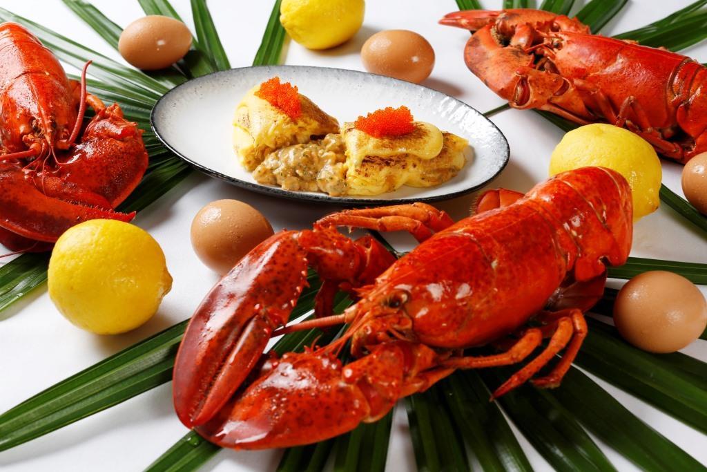 Food Lobster Omlette_Sunday Brunch_NEXT2 Cafe _Shangri-La Hotel, Bangkok