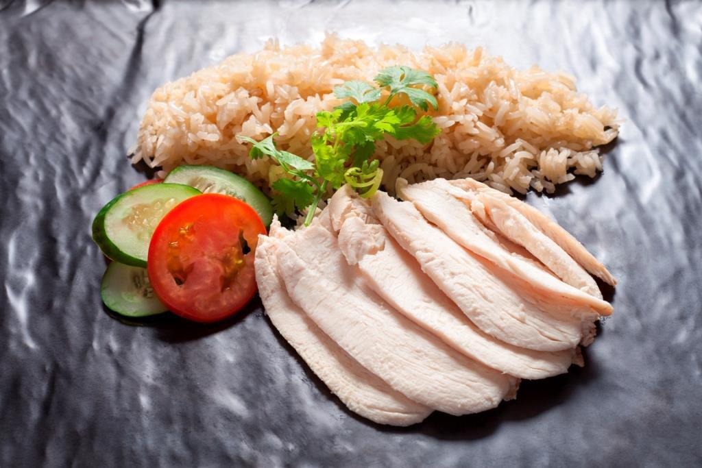 Food at NEXT2 Cafe_Shangri-La Hotel, Bangkok
