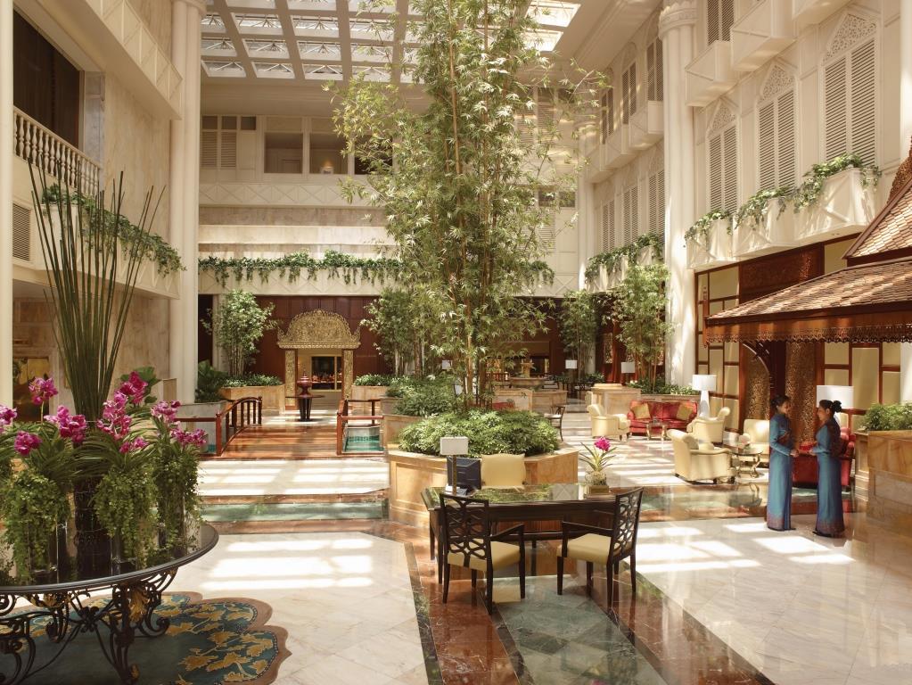 Krungthep Wing Lobby_Shangri-la Hotel, Bangkok