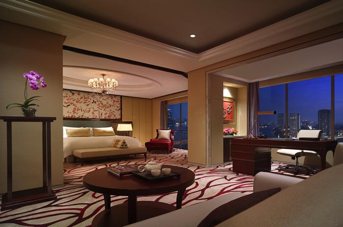 Presidential Suite – Bedroom_Shangri-La Hotel, Bangkok