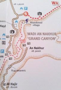 Wadi An Nakhur Map