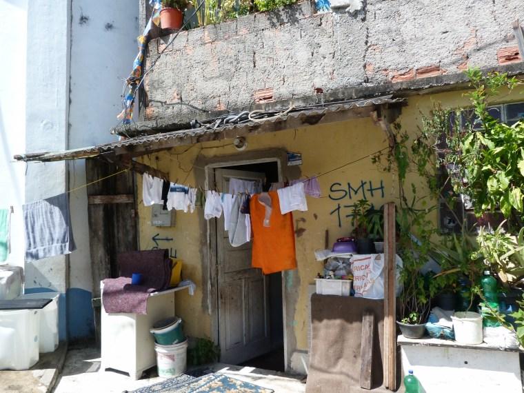 Laje - typisches Haus in einer Favela © Phyllis Bußler