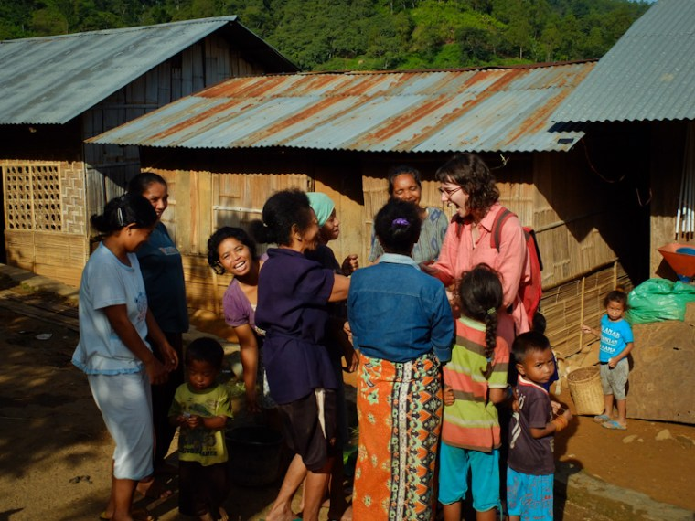 Visiting a local NGO, like this farmers' group in Eastern Indonesia, can be the first step to understanding the local situation and getting involved consciously. Flores.