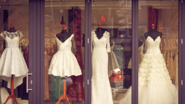 bridal row