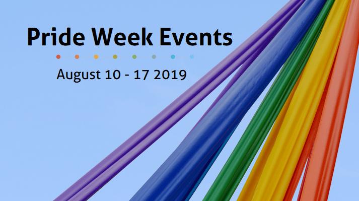 Pride Week Events August 10-17