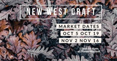New West Craft Fall Market