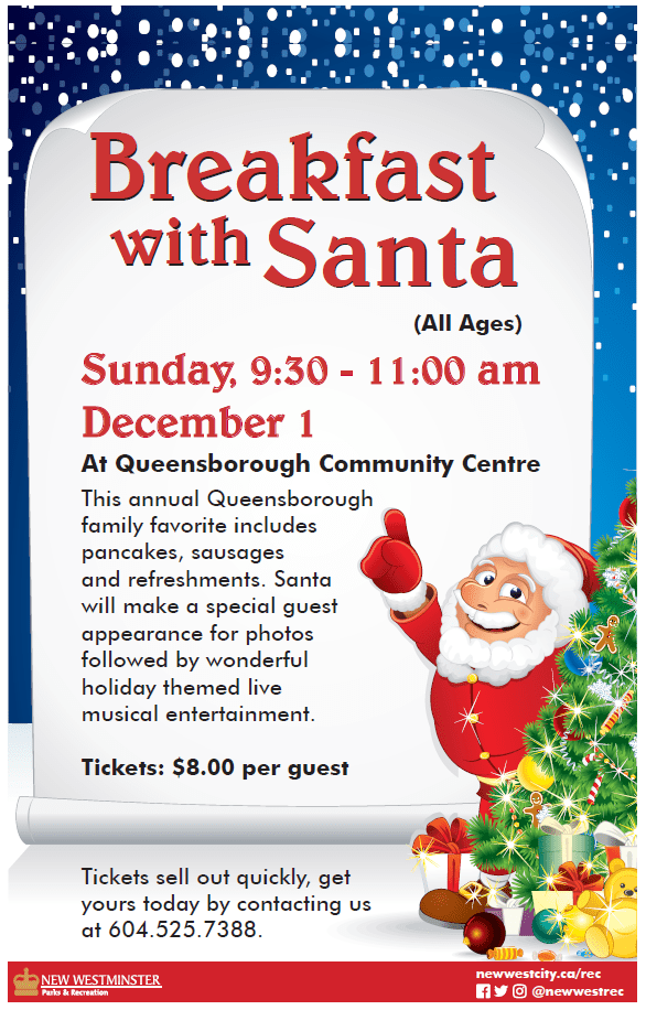 Breakfast with Santa at QCC