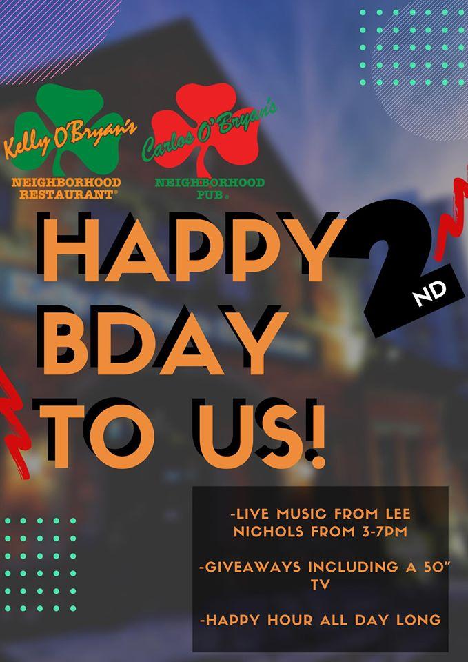 kelly obryans birthday