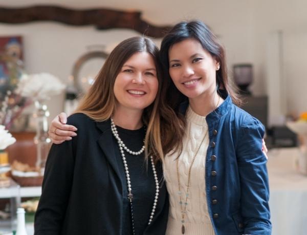 TBG launch_Elena Sergeeva and Marissa Tejada600