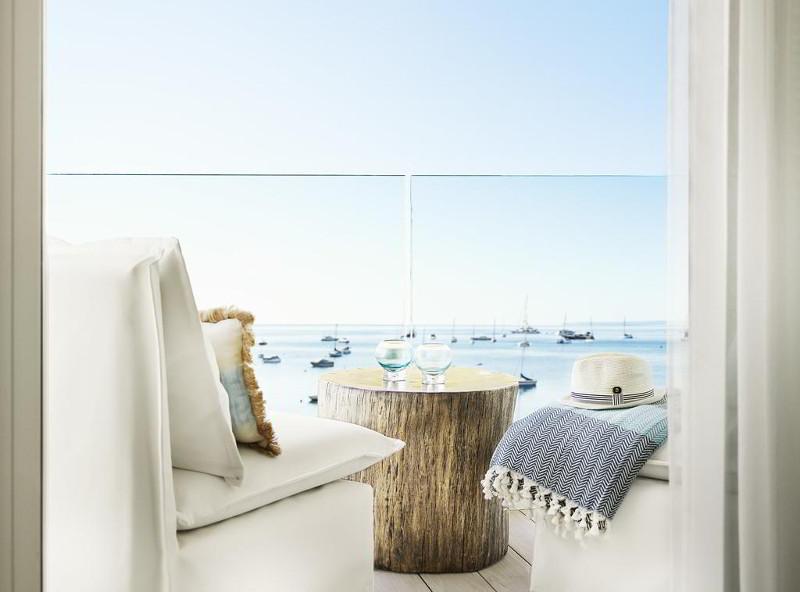 Θέα από δωμάτιο του Nobu Hotel Ibiza Bay