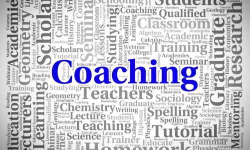 Coaching - εικόνα με λέξεις