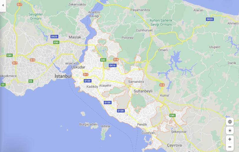 الأماكن السياحية في إسطنبول القسم الأسيوي